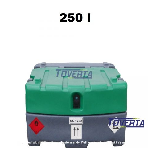 Mobile fuel tanks JFC 250 liters capacity