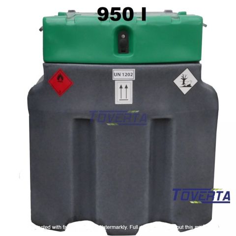 Mobile fuel capacity JFC 950 liters capacity