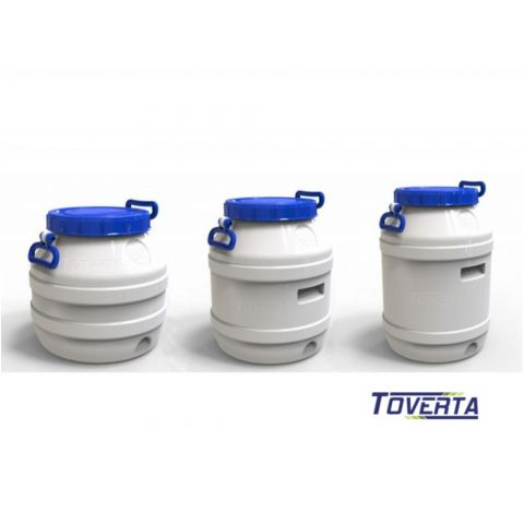 Food containers, barrels: 20 - 120 l capacity